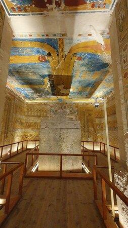 tomba di Ramses IV (valle dei Re)
