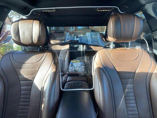 לונדון, UK: Limousine Service