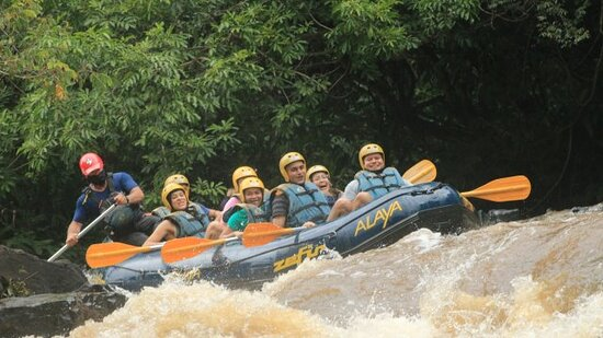 Rafting with exclusive zip lines: Passeio incrível!!!!!!!!