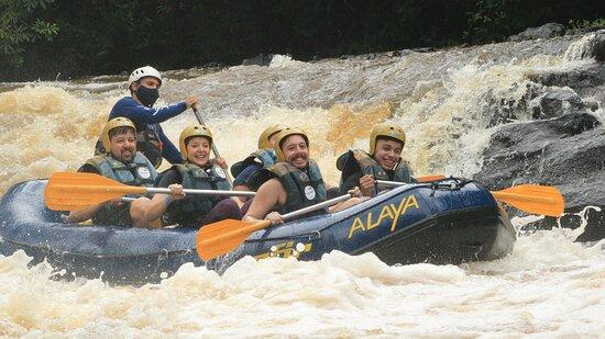 Rafting with exclusive zip lines: Rafting - Jorge
