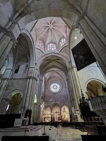 Gothic vaults of the Cathedral.