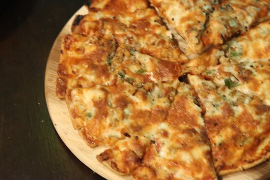 The thin pizza