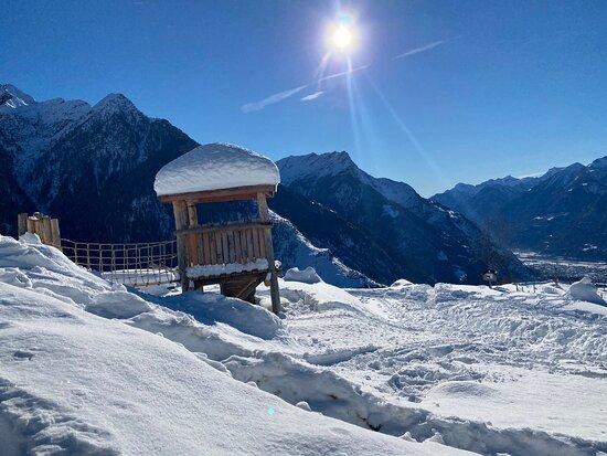 Malvaglia, Ελβετία: Splendida domenica con un'atmosfera e clima invidiabile, senza contare la Super cordialità dei gestori e dell'ottima Fondue 👍🥂