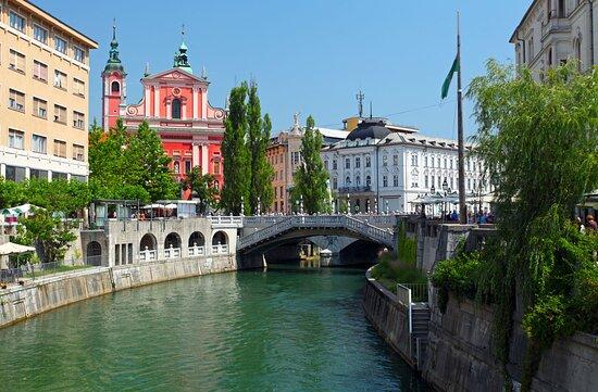 Ljubljana, encantadora capital de Eslovenia!
