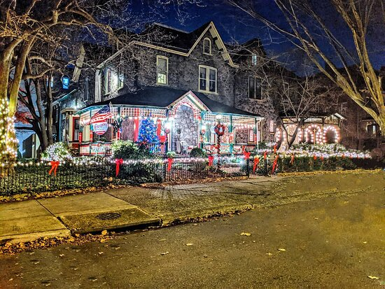 Cornerstone B&B is all decked out for the holidays!
