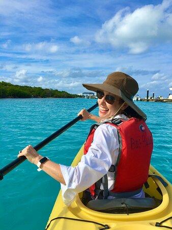 Kayak Eco Tour: We are ALL SMILES!