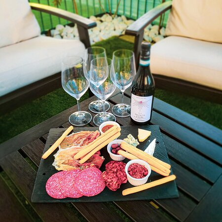 Enjoy a bottle of wine and some meat & cheese. All wines from the retail store are on our bar wine list.