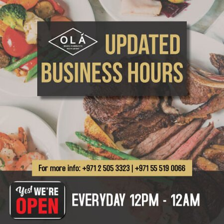 BUSINESS HOURS!