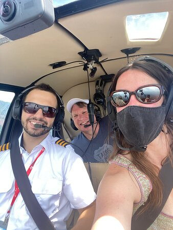Private Helicopter Tour for 2 People - Classic Rio Tour Route (25-30min): The friendly skies from a Riocopter