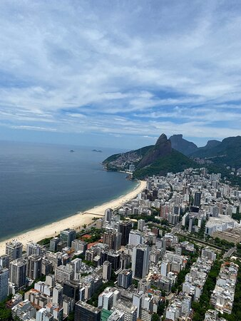"""Private Helicopter Tour for 2 People - Classic Rio Tour Route (25-30min): The """"Magnificent City"""" from a Riocopter"""
