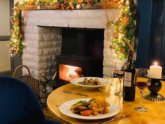 Enjoy a substantial meal with a bottle of wine. Christmas is only round the corner, treat yourself!