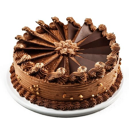DOBOŠ Čokolada (1kg/2kg):  Božanstvena torta mađarskog porekla koju je još 1884. godine napravio poznati Jozsef C. Dobos. Pravimo je po originalnom receptu iz tog vremena, sa puno tankih vazdušastih kora, čokoladnim kremom i čokoladnom krunom.  DOBOSH Chocolate (1kg/2kg):  A delightful cake with a Hungarian origin, which the famous Joseph C. Dobosh made in 1884. We still make it by the original recipe from that time, with lots of thin airy crusts, chocolate cream and a chocolate crown.
