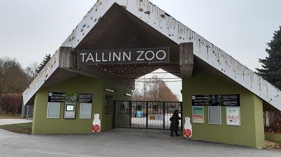 Norra ingången till Tallinn Zoo.