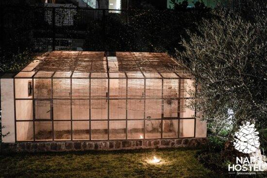 Garden's greenhouse