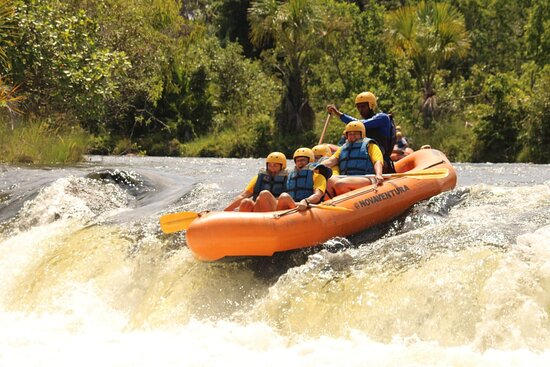 Jalapao State Park, TO: Expedição Jalapão Dez/20  Venha viver uma experiência incrível com a gente. Foto: Rafting no Rio Soninho