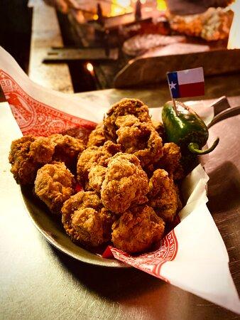 Big Texan Steak Ranch Fried Mushrooms.