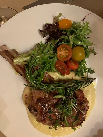 Wood Fire Grill Veal Chop