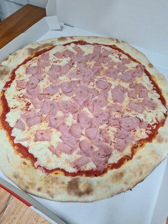 la verdadera pizza