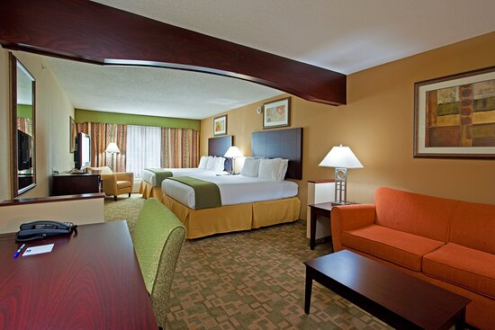 Holiday Inn Express & Suites Dayton South Franklin: Guest room