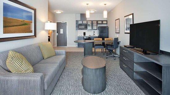 One Bedroom Suite Livingroom kitchen
