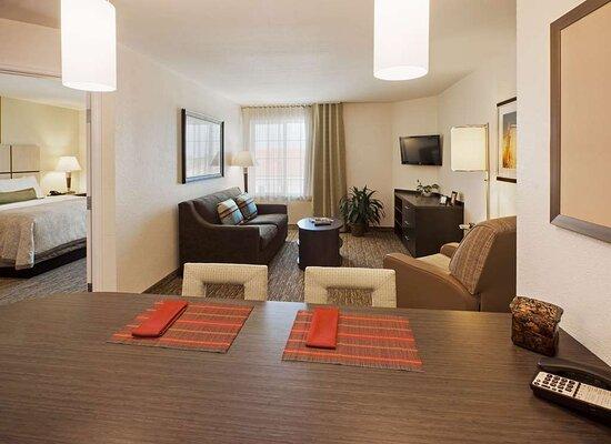 One Bedroom Suite Livng Area