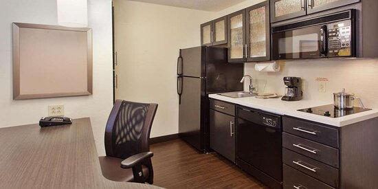 Suite Kitchen and Work Area