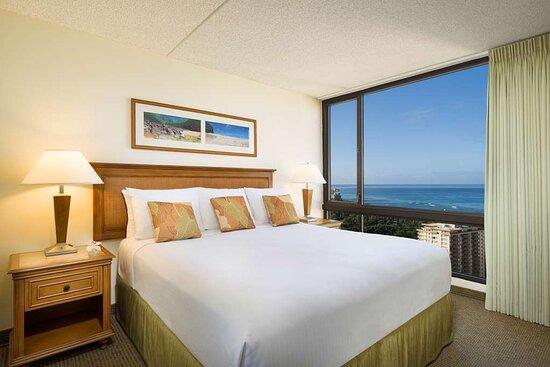 Aston Waikiki Sunset 2 Bedroom Ocean View Bedroom