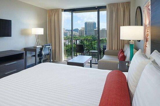 Aqua Palms Waikiki, hoteles en Honolulu
