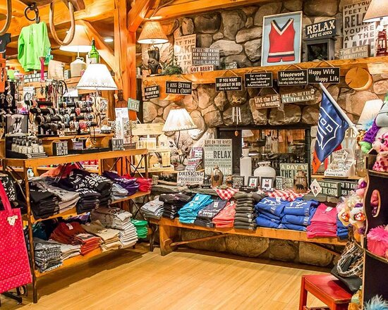 West Branch, MI: Hotel gift shop