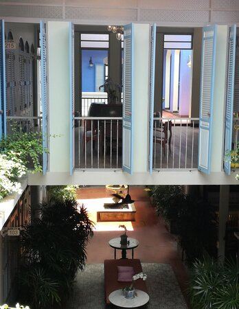 Atrium and first floor at The Memory at On On