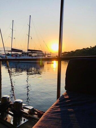 marmaris mavi yolculuk sanda yachting