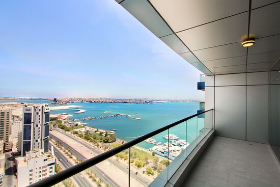 Hoora, Bahrain: ERA View is located along Al Fateh Highway opposite side of Marina Beach Park and Dolphins Resort. With different layout for you to choose from! Brand new semi-furnished apartment that is surely won't disappoint may it be for your investment or personal use. Enjoy the beautiful view of the sea or the mesmerizing city view. Very accessible to key establishments. Live in a serene building within the hustle and bustle of the city. Luxurious Facilities Era View offers: - Swimming Pool - Gym