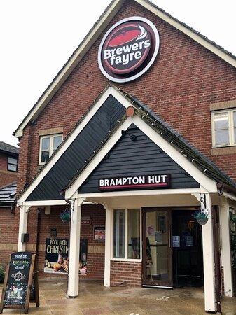The Brampton hut