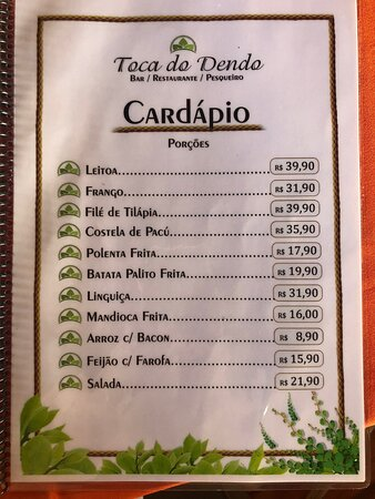 Restaurante Toca do Dendo