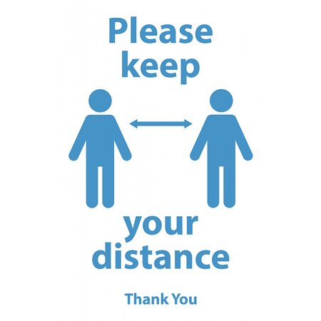 Social distance in place