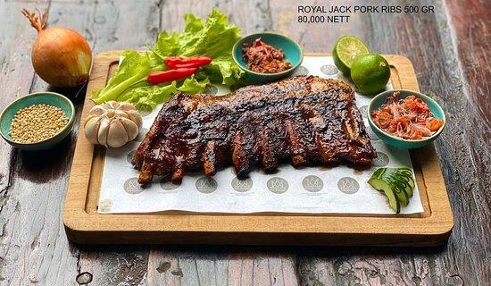 Pork rib 500gr for 80k nett, tasty & affordable