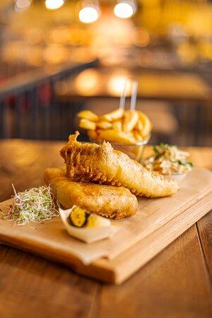 Brytyjskie FISH&CHIPS