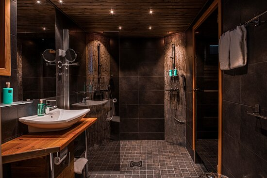 Meltaus, Finland: jr suite bathroom