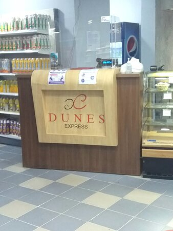 Review for DUNES EXPRESS CAFE.