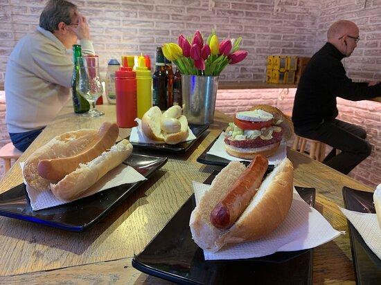 Frankfurts y hamburguesas Casa Vallès