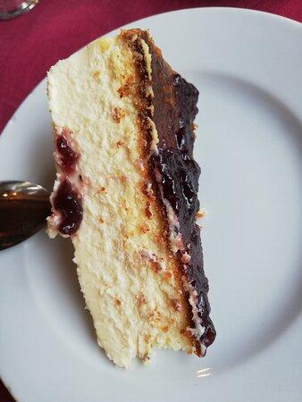 Una, Espagne : La tarta de queso es casera y tradicional
