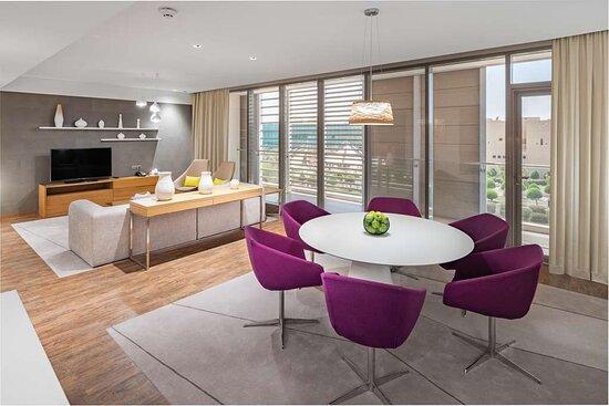 Two Bedroom Duplex - Living room