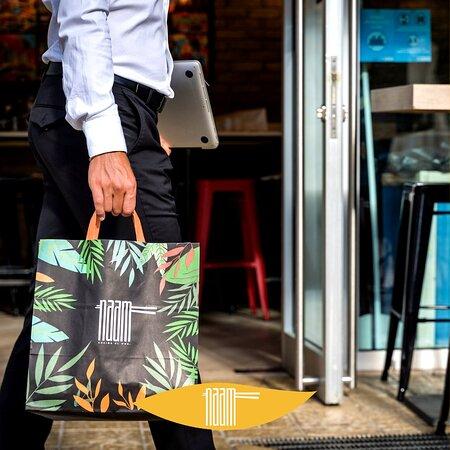 Una nuova idea di street-food!💡 Lasciati trasportare dall'esperienza NAAM anche a #pranzo.
