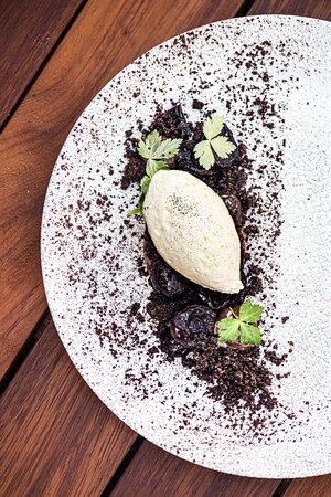 Les desserts gourmands de notre restaurant La Table du Perchoir Porte de Versailles. Crédit Photo : Studio Cuicui