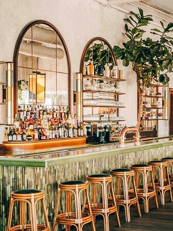 La partie bar de notre nouvel établissement Le Perchoir Porte de Versailles Crédit Photo : Jérôme Galland