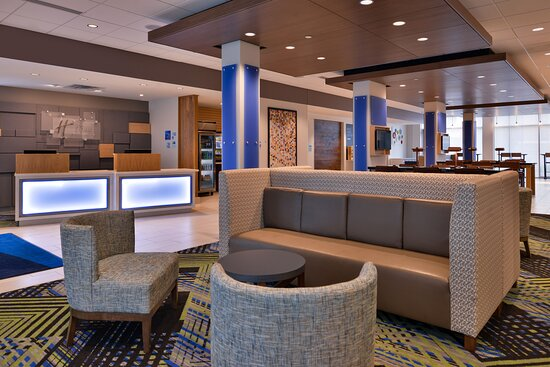 Seating Area in Hotel Lobby