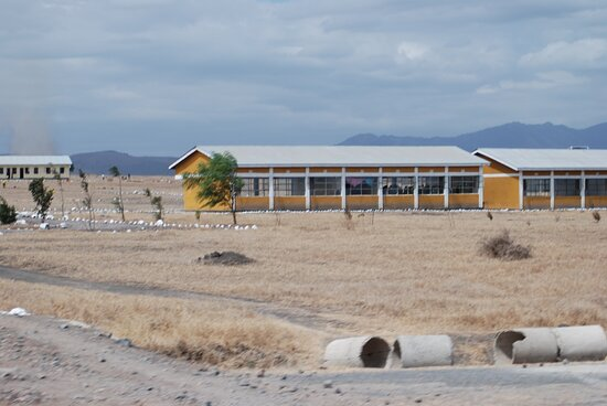 טנזניה: Souvenirs de mes Voyages --- Tanzanie -- Retour d'école dans la savane pour des enfants Massai 20.12.17