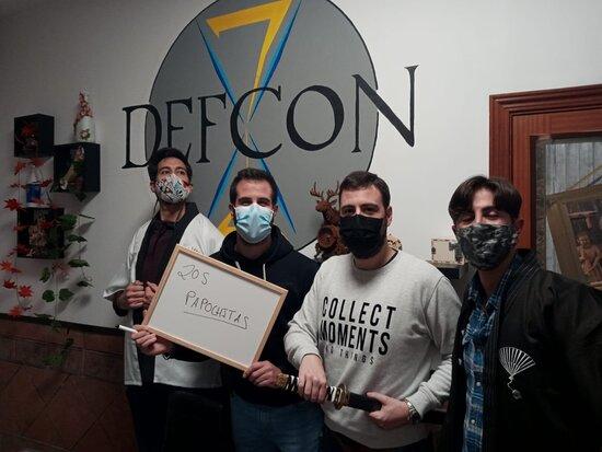 Defcon Escape Room