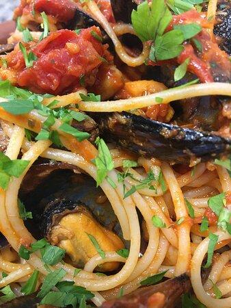 Spaghetti mediterránea