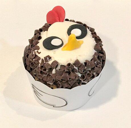muffin size chicken cupcake